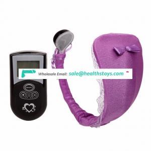 female underwear erotic vibrator with remote control c string sex toys