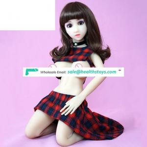 free shipping new products 2019 dark/white color small breast sex doll young for gay