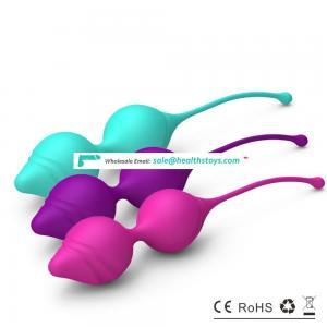 high end silicone adult sex toys viabrator balls kegel exercisers