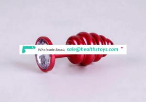 hot sale mini anal toys aluminum alloy butt plug anal toys for adults