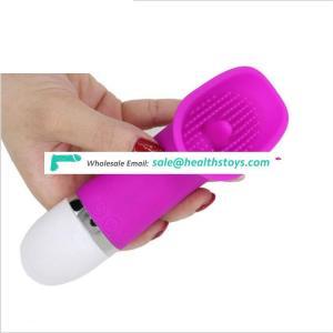 licking toy Big head clitoris stimulation vibrator Silicone body massager for women