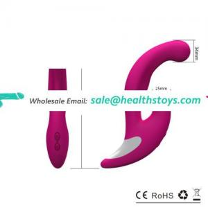medical grade silicone usb charger Rabbit sextoy Vibrator 2016 hot