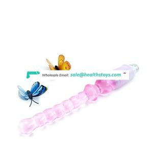 ml-A006 Pink Anal Beads Sex Machine Accessories For Men and Women Anal Plug Sex For Make Love Machine