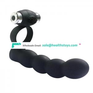 multi-frequency dildo vibrator with cock ring sex toys for women&men