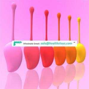 pelvic muscle trainer restore tighten vagina ben wa kegel balls kegel exercise weights | 6 pcs