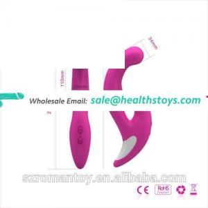 rechargeable adult best vibrating dildo with 7 modes at factory price
