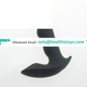 silicone vibrating prostate massager for men stimulation for male anal sex toys