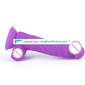 soft big real skin feeling artifical silicon penis dildo for women masturbator with Suction Cup
