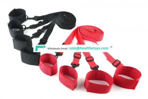 under bed restraint good quality wrist and ankle cuffs adult game bed toys