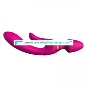 vibrating g-spot magic wand silicone vibrator massager vibrator for vagina